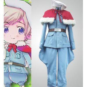 Axis Powers ヘタリア アイスランド 風 コスプレ衣装 ★  完全オーダメイドも対応可能 * K442