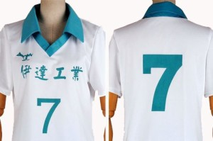 DK2458 ハイキュー!! 青根 高伸(あおね たかのぶ) 伊達工業高校 コスプレ衣装  新品 完全オーダメイドも対応可能