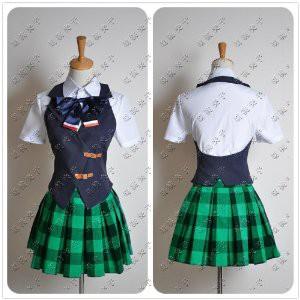 DK2212 コスプレ衣装★うたのプリンスさまっ♪ 早乙女学園 七海春歌 夏服 コスチューム 完全オーダーメイドも対応可能