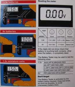[送料無料][海外]電池残量がわかるLCD液晶画面バッテリーチェッカーBatteryTesterBT-168D乾電池ボタン電池角型電池[納期:約2-3週間]