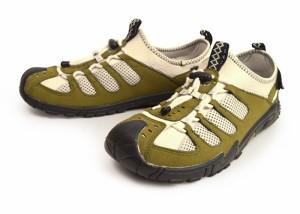 ムレ防止 屈曲性 軽量 アクティブシューズ アウトドア スポーツスニーカー カジュアル サンダル メッシュ スリッポン 靴 vr2170