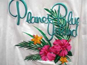 PLANET BLUE  プラネットブルー 半袖Tシャツ
