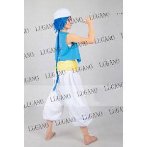 DK1514  マギ MAGI アラジン  衣装+ウイッグフルセット コスプレ衣装   完全オーダメイドも対応可能
