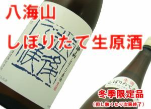 【冬しぼりたて新酒】八海山 越後で候(ブルー)1.8L