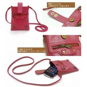 エディターズ ガジェットケース  【5色】 ポシェット 携帯ケース スマホケース スマホポーチ IPHONE ba000160