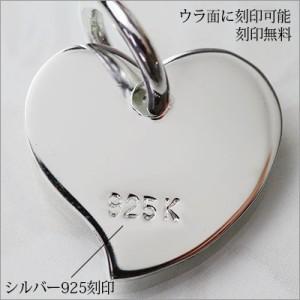 刻印・送料無料/ハートプレートネックレス/ハワイアンジュエリー/SP2587