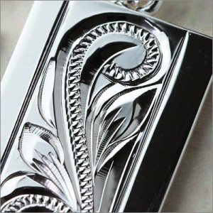 刻印 送料無料 ハワイアンジュエリー ネックレス メンズ レディース シルバー925 ペンダントトップ プレート SP2622