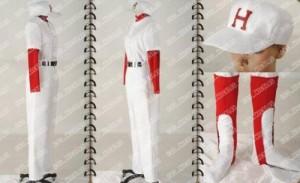 もしドラ 柏木次郎 程高野球部 制服★ コスプレ衣装 完全オーダーメイドも対応可能 * K2519
