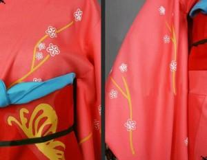 銀魂  柳生家 柳生九兵衛(やぎゅう きゅうべえ) 着物   風 コスチューム コスプレ衣装  完全オーダーメイドも対応可能