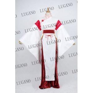 DK2105 東方project 風 藤原妹紅  コスチューム、コスプレ コスプレ衣装 完全オーダメイドも対応可能