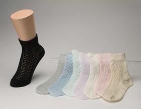 杉山ニット工業 EMソックス ルミー柄 春夏向き レディースソックス 日本製 くつした くつ下 靴下 LS0531