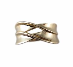 イエローゴールド ファッション リング『ギフトにオススメ!石無し地金の指輪』