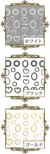 【メール便OK】オリジナル【ネイルシール】フレーム ネイルレシピ