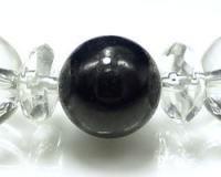 送料無料【FORESTBLUE 最高級サファイア&水晶 ブレスレット8mm玉 Type1】最高級サファイアと、天然本水晶を使用!
