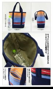 カポノ ラグミニトートバッグ (Kapono ランチバッグ お買い物バッグ)