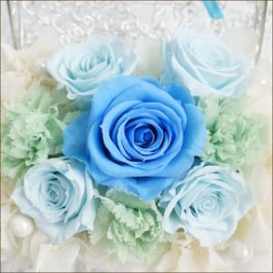 青い薔薇のプレゼント!【送料無料】クール・プリティー 【送料無料/翌日配達/ギフト/花/メッセージ/即納】誕生日 8月 結婚祝い/w_fl
