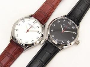 送料無料/BLUE DICE■腕時計*ウォッチ/EJ138*ブラック&ホワイト/全3色*不思議!?逆回転で時を刻む*日本製ムーブ*ユニセックス【M-W・L-W】