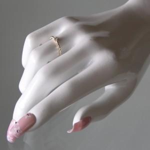 小森純さんプロデュースジュエリー!K10ゴールド ダイヤモンド リング|Marea rich マレアリッチ|プレゼント推奨品