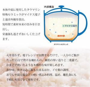 送料無料★電子レンジ調理器【ひとり御膳】専用レシピ付き!