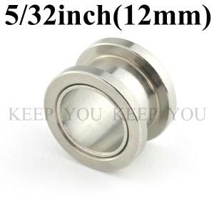 メール便 送料無料 フレッシュトンネル 5/32inch(12mm)アイレット サージカルステンレス316L(医療用) 【ボディーピアス】12ミリ ┃