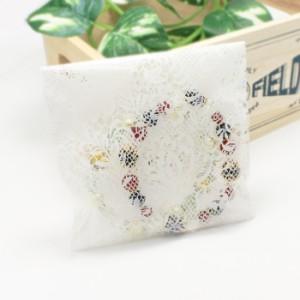 [クロネコDM便 送料無料!!]選べる パワーストーン 天然石 キャンディカラー ブレスレット (ローズクォーツ/水晶/アメジスト/フロ