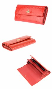 ヴィヴィアンウエストウッド 32-547 APOLLO/RED 長財布 小銭入れ付 Vivienne Westwood /import