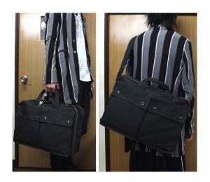 ポーター 吉田カバン SMOKY スモーキー オーバーナイター 592-06361 ブラック 送料無料
