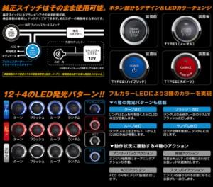 【送料無料】 GARAX ギャラクス 【80系ノア/ヴォクシー】 プッシュスターター イリュージョンスキャナー(Bタイプ)