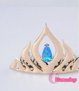 アナと雪の女王 エルサ女王   ティアラ髪飾り★ コスプレ道具  *D389
