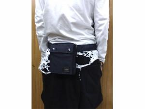 ポーター 吉田カバン SMOKY スモーキー 縦型ウエストポーチ 592-07508 送料無料