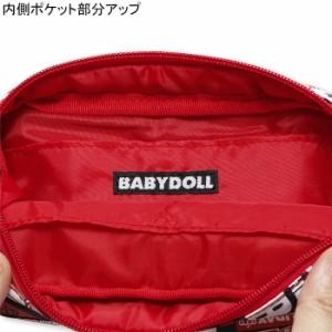 NEW♪お手入れ簡単ナイロン素材♪デザイン総柄ポーチ-小物入れメイクポーチベビードールBABYDOLL-5258
