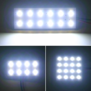 [ダイハツ]タント≪LA600系≫ 専用■驚異の明るさ高輝度SMD仕様LEDルームランプ4点セット