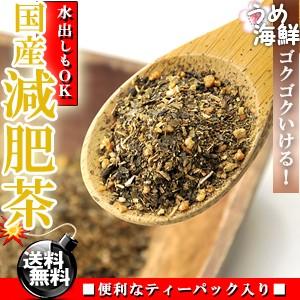 厳選!8種類ブレンド国産 減肥茶 ティーバッグ 40袋(20袋×2個) 水出し もできます/送料無料/げんぴ茶/健康茶