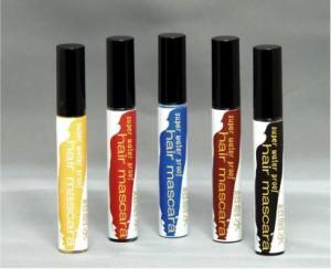 ヘアマスカラ 赤 レッド 塗るだけの簡単メッシュ 眉毛のカラーリングにも便利な眉マスカラ カラーマスカラ