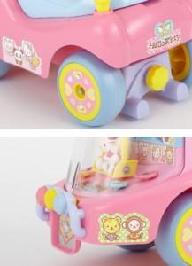 乗用 わくわくハローキティα [乗用玩具] (4969755023626)