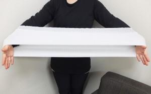 【送料別】妊娠中や産後のお役立ちアイテム☆アンダー腹巻2枚組 LLサイズ[60cm丈]☆