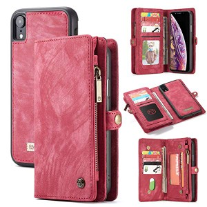 a9ff5fc6dc iphoneXr ケース 高品質 手帳型 カバー 磁石吸着 財布型 TPU 本革 レザー 落下