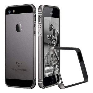a7d8c77842 iPhone SE 5 5s ケース クリア 衝撃吸収バンパー スリム 軽量 電波影響無し ストラップホール