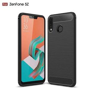 4a8fe6b214 Asus Zenfone 5 ZE620KL ケース 炭素繊維カバー 高品質TPU シリコン Zenfone5 ZE620KL ケース 保護