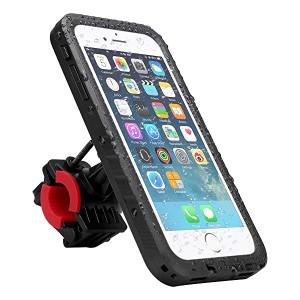 1fb9b2eb86 iPhone8 ケース iPhone 7 ホルダー 指紋認証 360度回転 自転車 スマホ ホルダー iPhone 7 防水