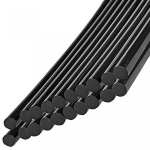 Super PDR 車体凹み修理 グルーガン用 グルースティック 車用補修剤  飾りdiy用品(20本組) (黒)