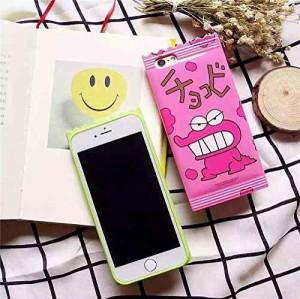 1bea82f6f0 【iPhone6 iPhone6s ケース カバー 】 ピンク /クレヨンしんちゃん チョコビのスマホケース