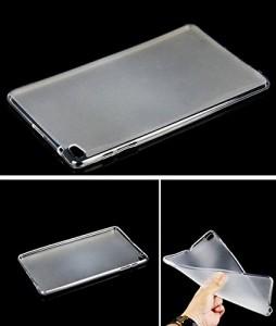 AVIDET au Qua tab 02 hwt31 / Huawei Mediapad T2 10.0 Pro ケース 衝撃吸収バンパー アンチスクラッチ ソフト TPU ケース (クリア)