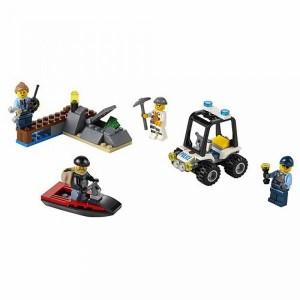 レゴ (LEGO) シティ ポリス~島の脱走劇~スタートセット 60127