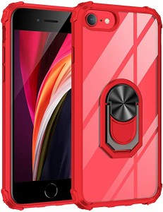 iPhone SE ケース 第2世代 2020 スマホケース iPhone8 iphone7 iPhonese2 iPhone6s iPhonese iPhone6 リング クリア スタンド 付...