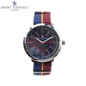 【送料無料】SMART TURNOUT スマートターンアウト  STD1-IB18  メンズ ウォッチ 腕時計 ネイビー クオーツ ナイロンベルト