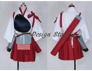 艦隊これくしょん 赤城風 艦これ風  コスプレ衣装 コスチューム cosplay ハロウィン イベント オーダーメイド可能  C101