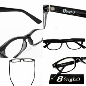 伊達メガネ 黒縁 メンズ ウェリントン メガネ 眼鏡 黒ぶち眼鏡 黒 ブラック ウェリントン型 めがね サングラス アメカジ系 hit_d