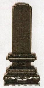 位牌:紫檀 黒檀・ 華 (4.0寸〜6.0寸)