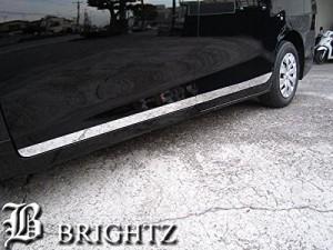 BRIGHTZ ヴォクシー ZWR80G 超鏡面ステンレスメッキサイドドアモール 4PC Bタイプ 【 CNT-698-EDE 】